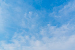 Blue sky with clouds background lines intersect. Stock Photos