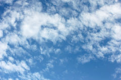 Blue sky and clouds. Beautiful blue sky and clouds Royalty Free Stock Images