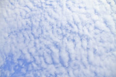 Blue sky with clouds beautiful in nature Royalty Free Stock Image