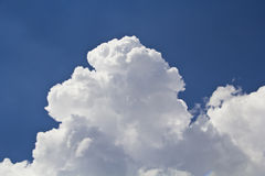 Blue sky and Clouds. Blue sky and beautiful white clouds Stock Photos