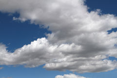 Blue sky with clouds. Cloudscape Royalty Free Stock Photos