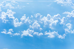 Blue sky with clouds. Cloudscape Stock Images