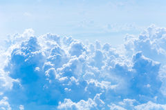 Blue sky with clouds. Cloudscape Stock Image