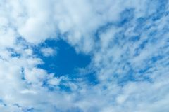 Blue sky and clouds daytime. Nice bright Stock Photos