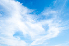 Blue sky clouds Royalty Free Stock Photos