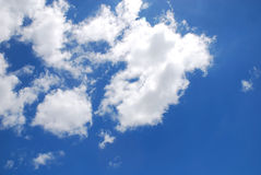 Blue sky with clouds. Blue sky with group of clouds Stock Images