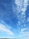 Blue sky with clouds (41) Stock Photo