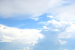 Blue sky and clouds. Royalty Free Stock Images