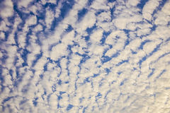 Blue Sky with Clouds. Royalty Free Stock Photos