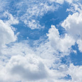 Blue sky with clouds,natural sky Royalty Free Stock Image