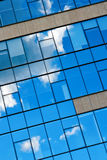 Blue Sky And Clouds Reflection Stock Image