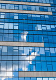 Blue Sky And Clouds Reflection Royalty Free Stock Photos