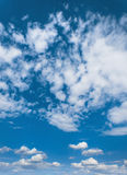 Blue sky with clouds, sky background Stock Photos