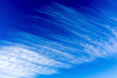 Blue sky clouds Royalty Free Stock Images
