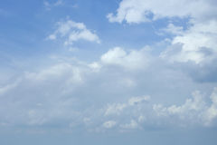 Blue sky clouds. Blue sky with clouds summer background Royalty Free Stock Images