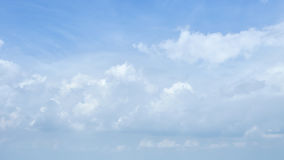 Blue sky clouds. Blue sky with clouds summer background Stock Images