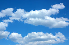 Blue sky and clouds Stock Photography