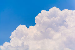 Blue sky and clouds in the summer. (Horizontal stock photos
