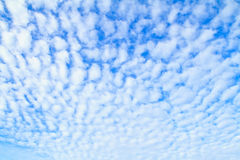 Blue sky with clouds Royalty Free Stock Photo