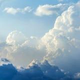 Blue sky clouds Stock Photos