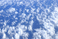 Blue sky clouds view Royalty Free Stock Photos