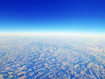 Blue sky and clouds. Royalty Free Stock Image