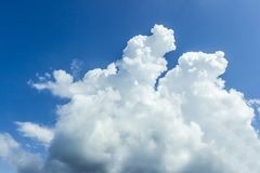blue sky with clouds, wallpapers, seascape, background stock photography