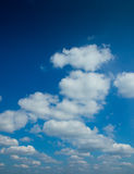 Blue Sky Clouds. Blue Sky with white clouds Stock Photo