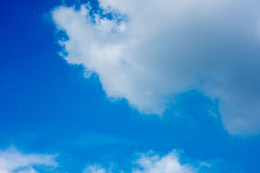 Blue Sky and clouds. White Stock Photo