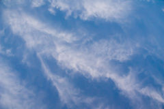 Blue sky with clouds. Blue sky with white clouds background image Royalty Free Stock Photo