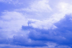 Blue sky and cloudscape Royalty Free Stock Photography