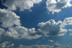 Blue sky and cloudscape Stock Photography