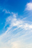 Cloudy. Blue sky with cloudy background stock photography