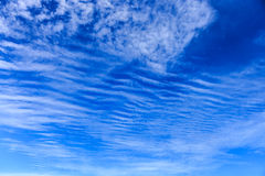 Blue sky with cloudy Royalty Free Stock Photos