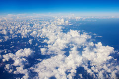 Blue sky with cloudy Royalty Free Stock Photo