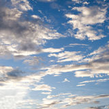 Blue sky cloudy Royalty Free Stock Photo