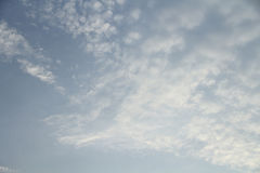 Blue sky in cloudy Royalty Free Stock Photography