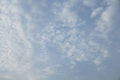 Blue sky in cloudy Stock Photo