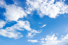 Blue sky and cloundy Royalty Free Stock Photos