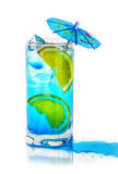 Blue sky - cocktail Stock Image