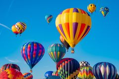 Sky Full of Balloons Stock Photography