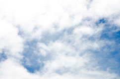 Blue sky and could. It is happy when look up to the sky Royalty Free Stock Photo