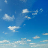 Blue sky and cumulus clouds Royalty Free Stock Images