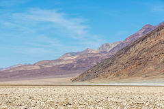 Blue sky day in the Death Valley National Park in Arizona Stock Images