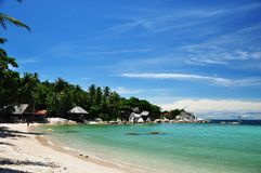 Blue sky day at Ko Tao Royalty Free Stock Photo