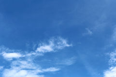 blue sky in the daytime. Stock Photos