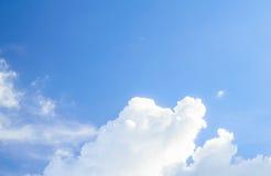 Blue sky in daytime Stock Photo