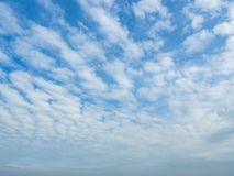 Blue sky and dramatic cloud colorful backgraound. Blue sky and dramatic cloud colourful background in summer stock photo