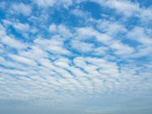 Blue sky and dramatic cloud colorful backgraound. Blue sky and dramatic cloud colourful background in summer royalty free stock photography