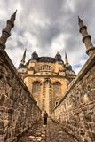 Exterior view of Selimiye Mosque in Edirne,Turkey stock image